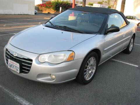 2005 Chrysler Sebring for sale at M&N Auto Service & Sales in El Cajon CA