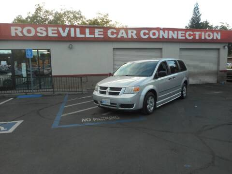 2008 Dodge Grand Caravan for sale at ROSEVILLE CAR CONNECTION in Roseville CA