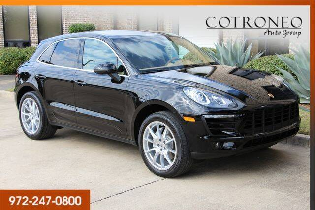 2015 Porsche Macan for sale at COTRONEO AUTO GROUP in Addison TX