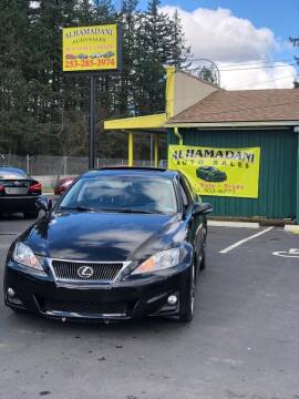 2011 Lexus IS 250 for sale at ALHAMADANI AUTO SALES in Spanaway WA