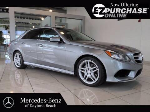 2014 Mercedes-Benz E-Class for sale at Mercedes-Benz of Daytona Beach in Daytona Beach FL