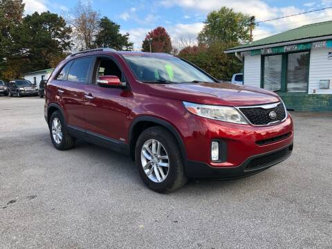 2014 Kia Sorento for sale at Morristown Auto Sales in Morristown TN