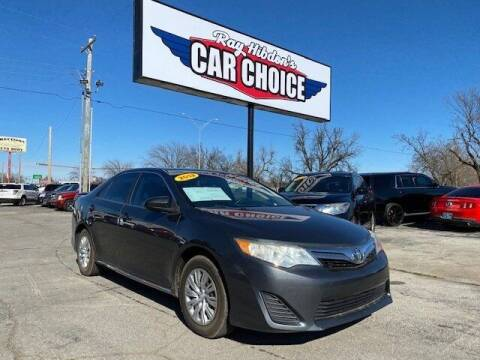 2012 Toyota Camry for sale at Ray Hibdon's Car Choice in Oklahoma City OK