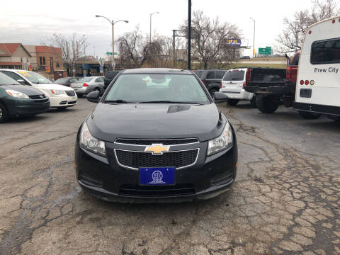 2013 Chevrolet Cruze for sale at E H Motors LLC in Milwaukee WI