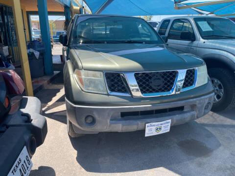 2005 Nissan Frontier for sale at Borrego Motors in El Paso TX