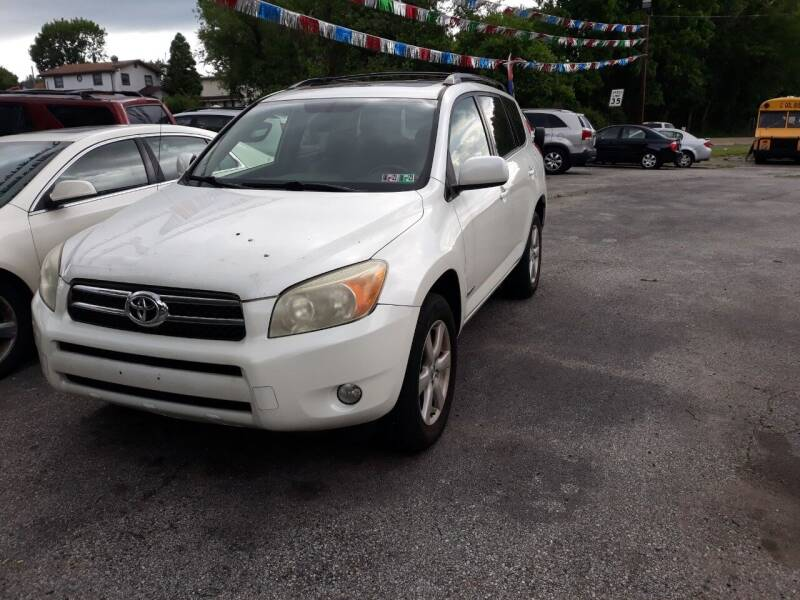 2006 Toyota RAV4 for sale at GALANTE AUTO SALES LLC in Aston PA