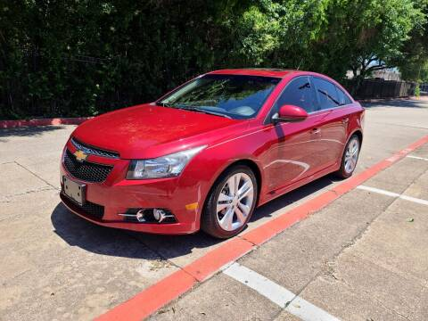 2014 Chevrolet Cruze for sale at DFW Autohaus in Dallas TX