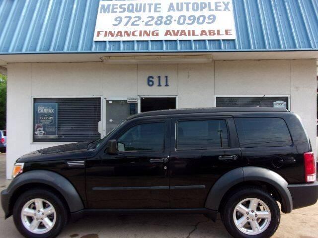 2007 Dodge Nitro for sale at MESQUITE AUTOPLEX in Mesquite TX