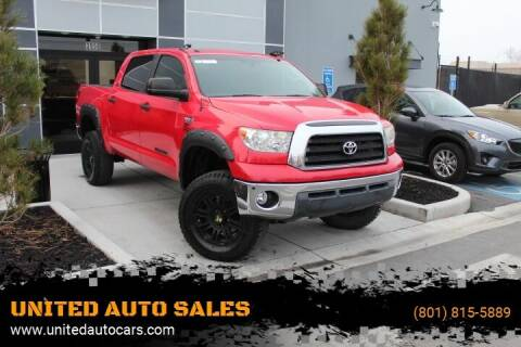 2012 Toyota Tundra for sale at UNITED AUTO in Millcreek UT