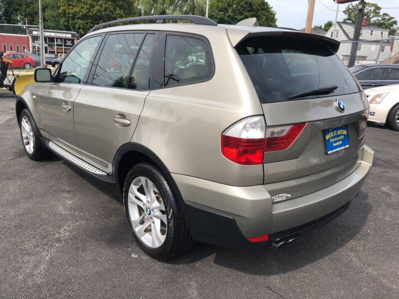 2008 BMW X3 AWD 3.0si 4dr SUV - Haverhill MA