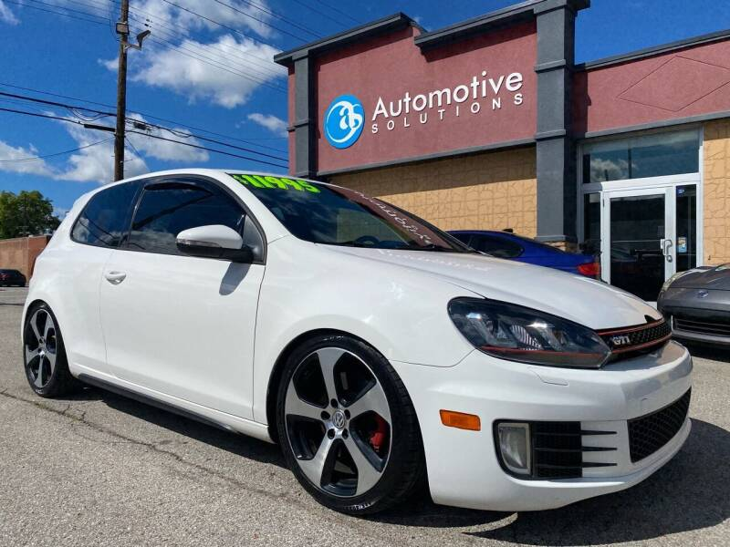 2012 Volkswagen GTI for sale at Automotive Solutions in Louisville KY