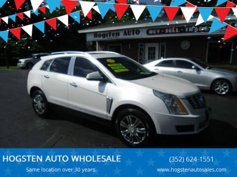 2014 Cadillac SRX for sale at HOGSTEN AUTO WHOLESALE in Ocala FL