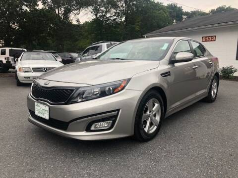 2015 Kia Optima for sale at Sports & Imports in Pasadena MD