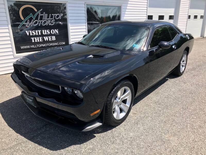 2014 Dodge Challenger for sale at HILLTOP MOTORS INC in Caribou ME