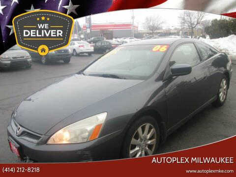 2006 Honda Accord for sale at Autoplex Milwaukee in Milwaukee WI