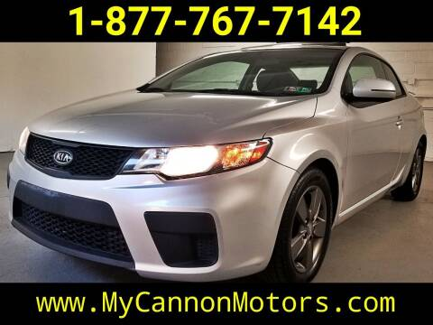 2012 Kia Forte Koup for sale at Cannon Motors in Silverdale PA