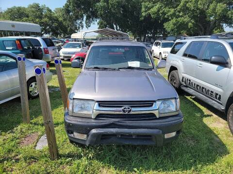 2001 Toyota 4Runner for sale at Wally's Cars ,LLC. in Morehead City NC