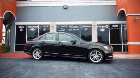 2013 Mercedes-Benz C-Class for sale at Car Depot in Miramar FL