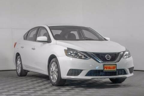 2018 Nissan Sentra for sale at Washington Auto Credit in Puyallup WA