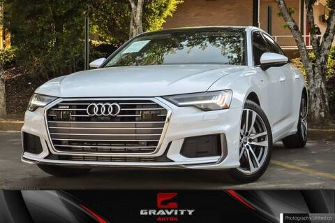 2019 Audi A6 for sale at Gravity Autos Atlanta in Atlanta GA