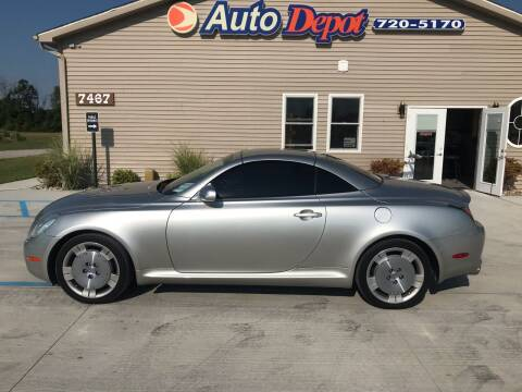 2002 Lexus SC 430 for sale at The Auto Depot in Mount Morris MI