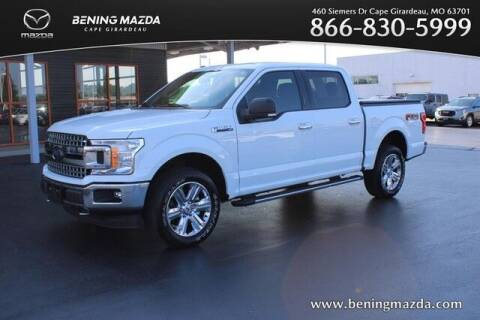 2018 Ford F-150 for sale at Bening Mazda in Cape Girardeau MO