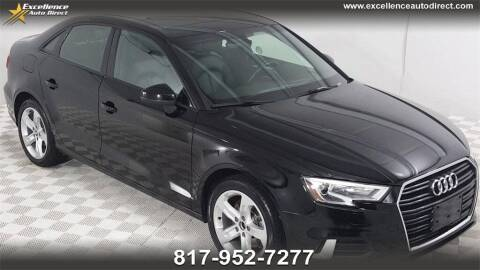 2018 Audi A3 for sale at Excellence Auto Direct in Euless TX