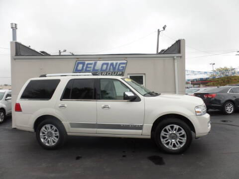 2007 Lincoln Navigator for sale at DeLong Auto Group in Tipton IN