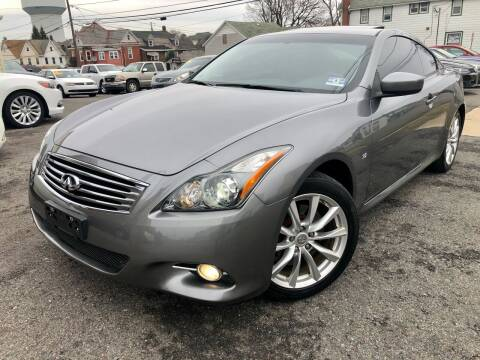 2014 Infiniti Q60 Coupe for sale at Majestic Auto Trade in Easton PA