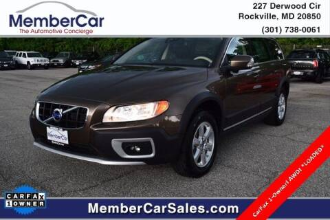 2012 Volvo XC70 for sale at MemberCar in Rockville MD