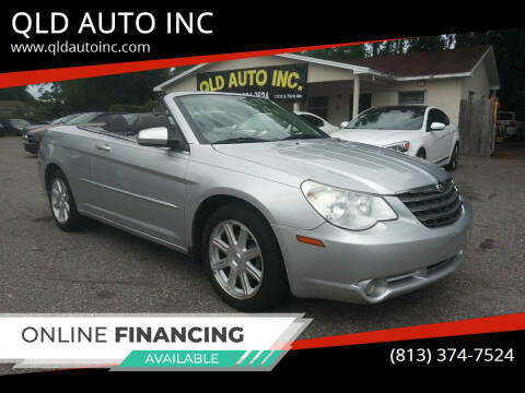 2008 Chrysler Sebring for sale at QLD AUTO INC in Tampa FL