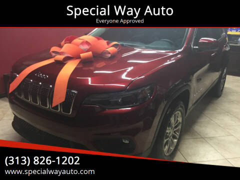 2021 Jeep Cherokee for sale at Special Way Auto in Hamtramck MI