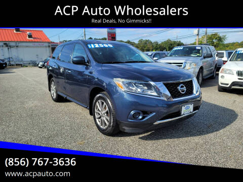 2014 Nissan Pathfinder for sale at ACP Auto Wholesalers in Berlin NJ