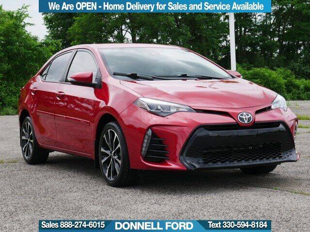 2018 Toyota Corolla for sale in Youngstown, OH