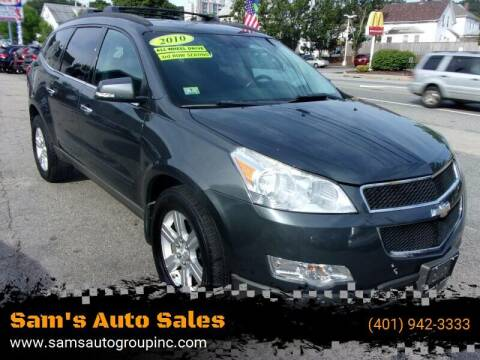 2010 Chevrolet Traverse for sale at Sam's Auto Sales in Cranston RI