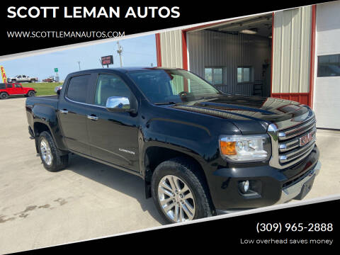 2017 GMC Canyon for sale at SCOTT LEMAN AUTOS in Goodfield IL