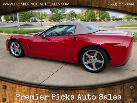 2006 Chevrolet Corvette for sale at Premier Picks Auto Sales in Bettendorf IA