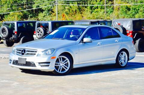 2012 Mercedes-Benz C-Class for sale at Marietta Auto Mall Center in Marietta GA