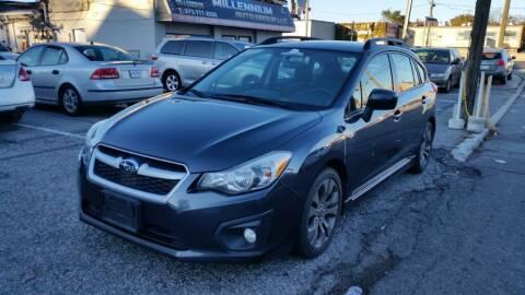 2014 Subaru Impreza for sale at Millennium Auto Group in Lodi NJ