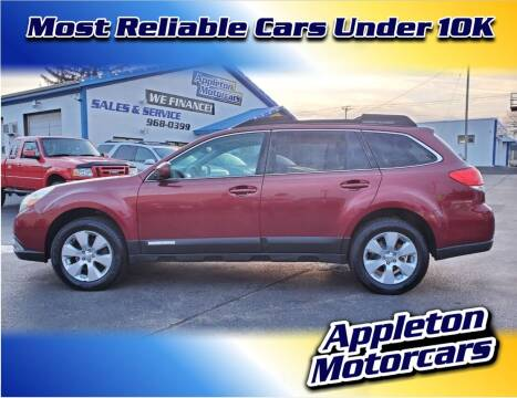 2011 Subaru Outback for sale at Appleton Motorcars Sales & Service in Appleton WI