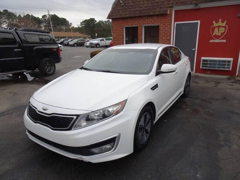 2012 Kia Optima Hybrid for sale at AP Automotive in Cary NC