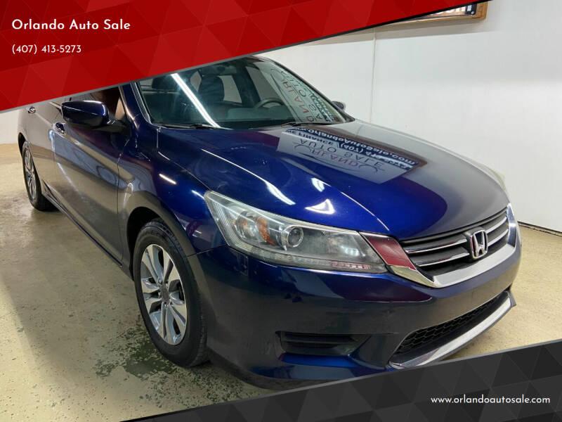 2014 Honda Accord for sale at Orlando Auto Sale in Orlando FL