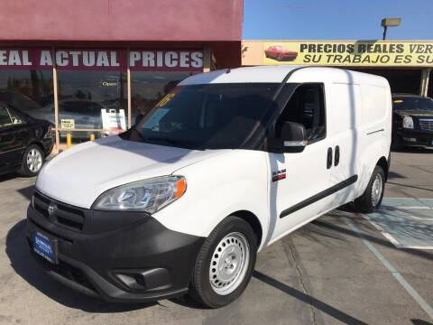 2016 RAM ProMaster City Cargo for sale at Sanmiguel Motors in South Gate CA
