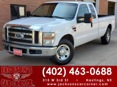 2009 Ford F-250 Super Duty for sale at Jacksons Car Corner Inc in Hastings NE
