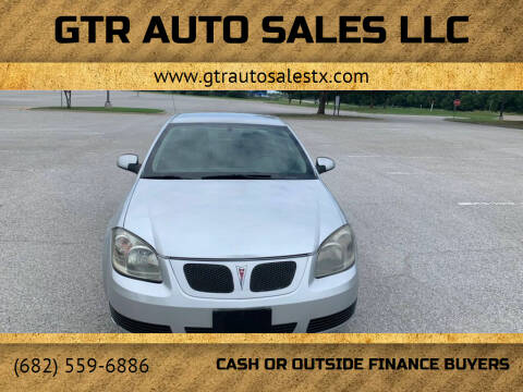 2007 Pontiac G5 for sale at GTR Auto Sales LLC in Haltom City TX