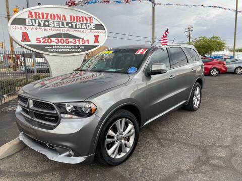 2012 Dodge Durango for sale at Arizona Drive LLC in Tucson AZ