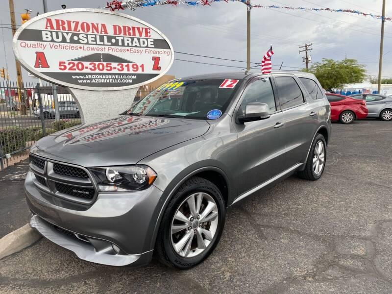 2012 Dodge Durango for sale at Arizona Drive LLC in Tucson AZ
