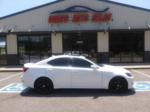 2011 Lexus IS 250 for sale at DOUG'S AUTO SALES INC in Pleasant View TN