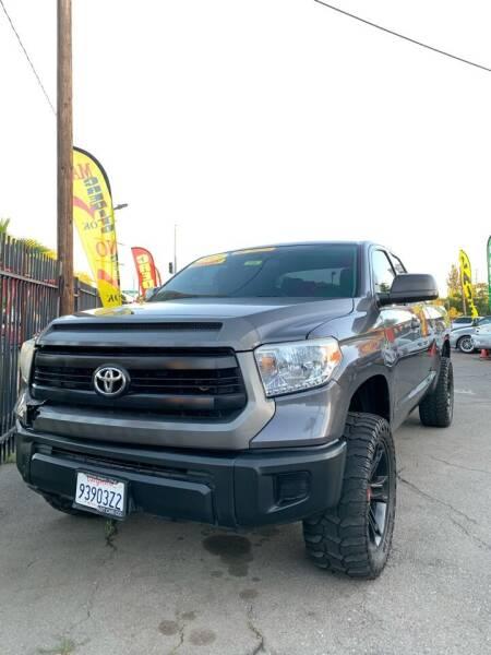2015 Toyota Tundra for sale at Victory Auto Sales in Stockton CA