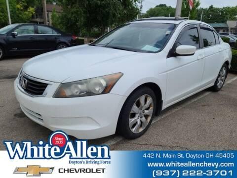 2008 Honda Accord for sale at WHITE-ALLEN CHEVROLET in Dayton OH